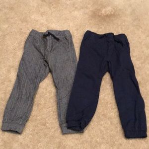 Boys Old Navy (2) dress jogger pant size XS 5